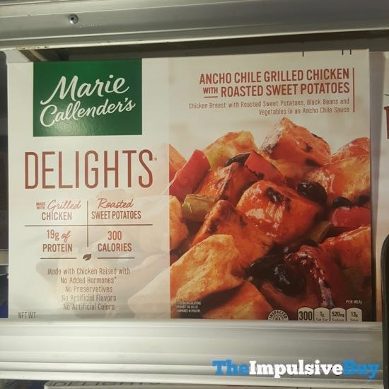 Marie Callender s Delights Ancho Chile Grilled Chicken with Roasted Sweet Potatoes
