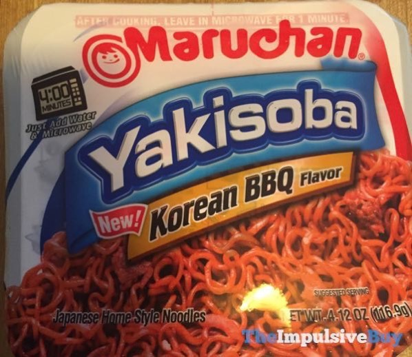 Maruchan Korean BBQ Yakisoba