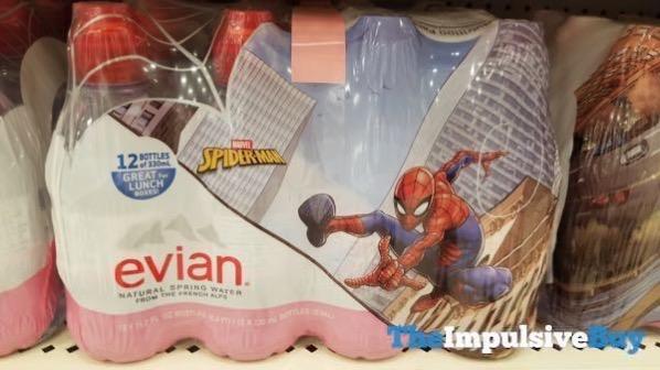Marvel Spider Man Evian 12 Pack