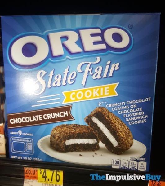 Oreo State Fair Cookies Chocolate Crunch