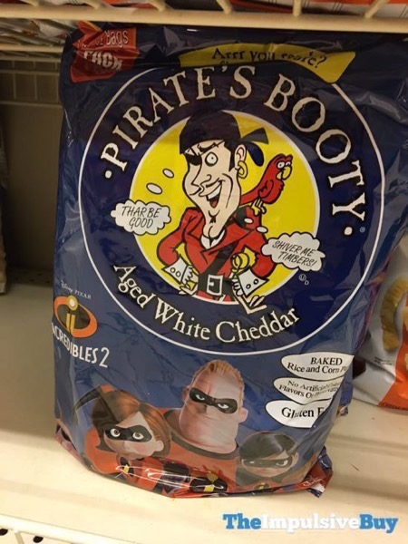 Pirate s Booty Incredibles 2 Aged White Cheddar Puffs