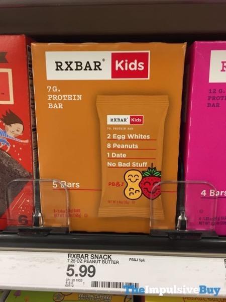 RXBAR Kids PB J Bar