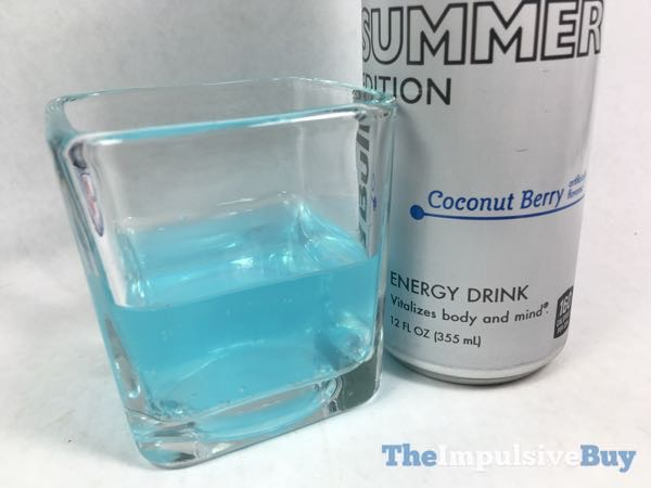 Red Bull The Summer Edition Coconut Berry Energy Drink 2