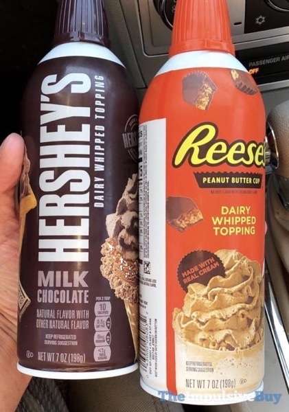 Reese s and Hershey s Dairy Whipped Toppings