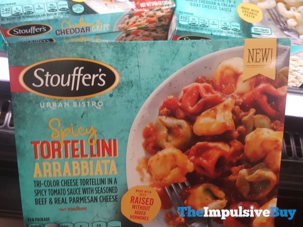 Stouffer s Urban Bistro Spicy Tortellini Arrabbiata