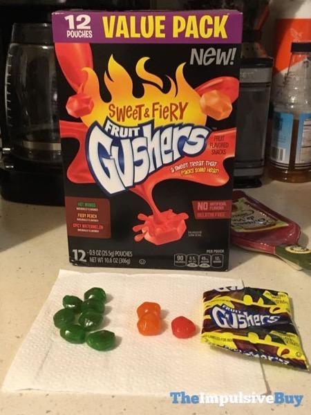 Sweet  Fiery Fruit Gushers