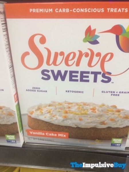 Swerve Sweets Vanilla Cake Mix