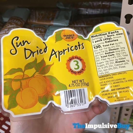 Trader Joe s Sun Dried Apricots