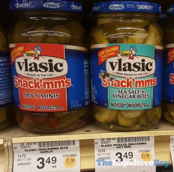 Vlasic Snack mms Spicy Minis