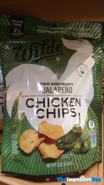 Wilde Jalapeno Chicken Chips