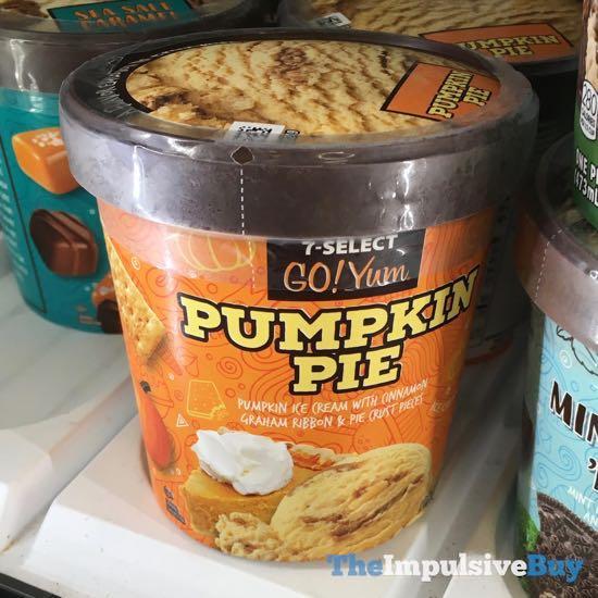 7 Select Go Yum Pumpkin Pie Ice Cream