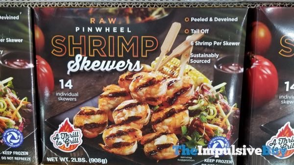 A Thrill to Grill Raw Pinwheel Shrimp Skewers