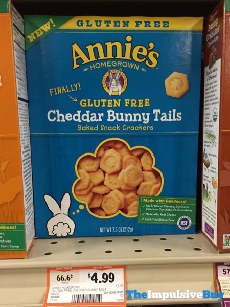 Annie s Gluten Free Cheddar Bunny Tails