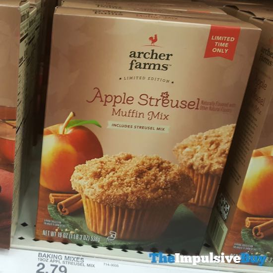 Archer Farms Limited Edition Apple Streusel Muffin Mix