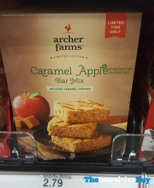 Archer Farms Limited Edition Caramel Apple Bar Mix