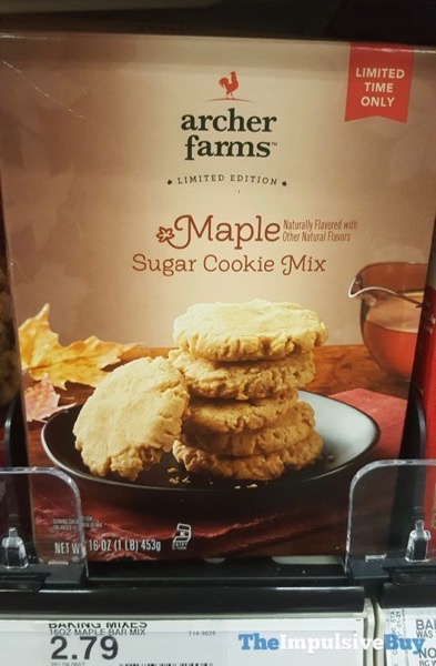 Archer Farms Limited Edition Maple Sugar Cookie Mix