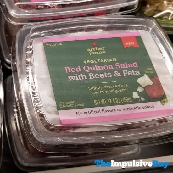 Archer Farms Red Quinoa Salad with Beets  Feta