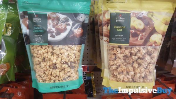 Archer Farms Salted Caramel and Banana Nut Granola