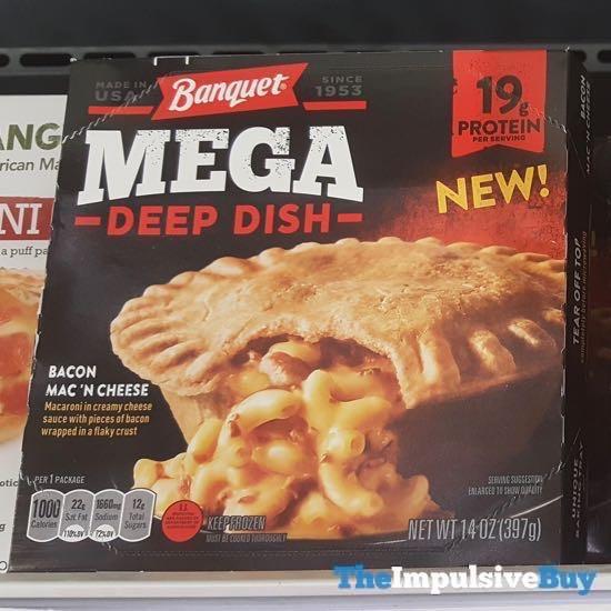Banquet Mega Deep Dish Bacon Mac  N Cheese