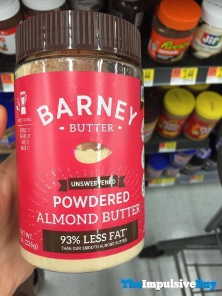 Barney Butter Unsweetened Powdered Almond Butter