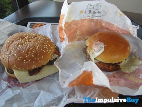 Burger King Jalapeno King and Spicy Crispy Jalapeno Chicken Sandwich