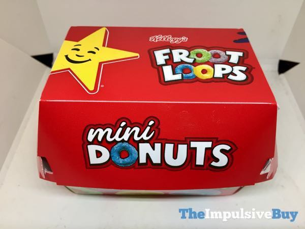 Carl s Jr Froot Loops Mini Donuts