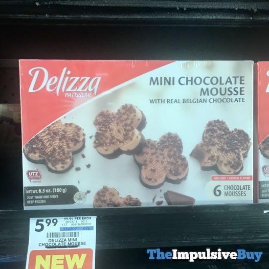 Delizza Mini Chocolate Mousse