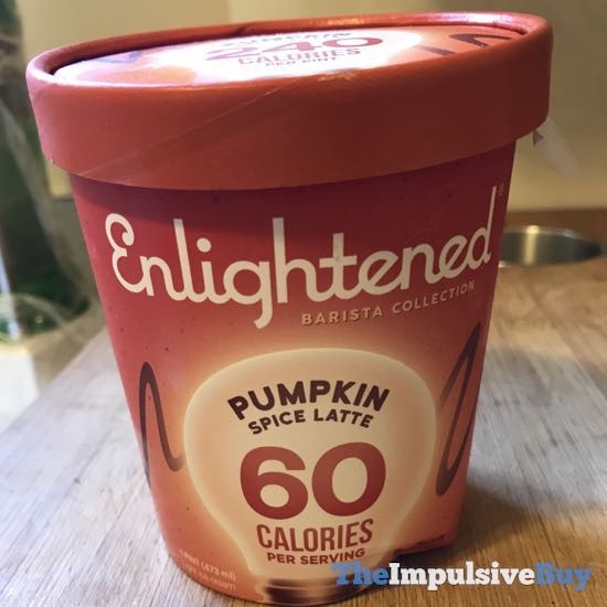 Enlightened Barista Collection Pumpkin Spice Latte Ice Cream