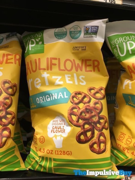 Ground Up Original Cauliflower Pretzels