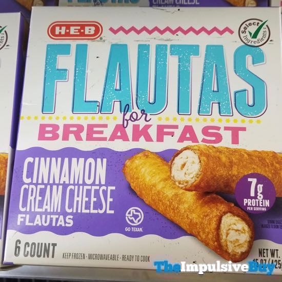 H E B Flautas for Breakfast Cinnamon Cream Cheese Flautas