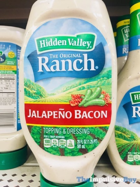 Hidden Valley Ranch Jalapeno Bacon Dressing