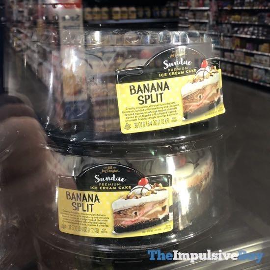 Jon Donaire Banana Split Sundae Premium Ice Cream Cake