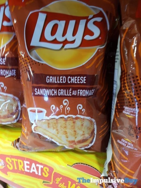 Lay s StrEATs of the World Grilled Cheese Potato Chips