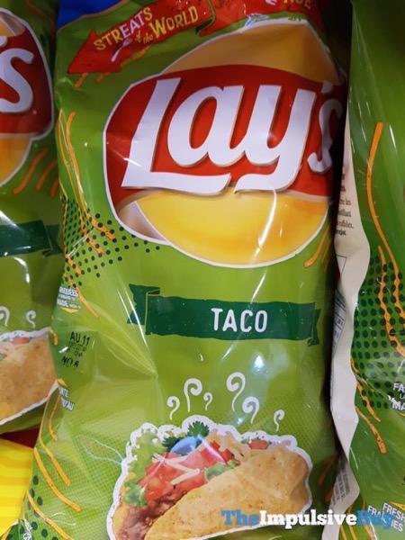 Lay s StrEATs of the World Taco Potato Chips
