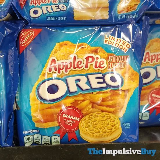 Limited Edition Apple Pie Oreo Cookies  2018