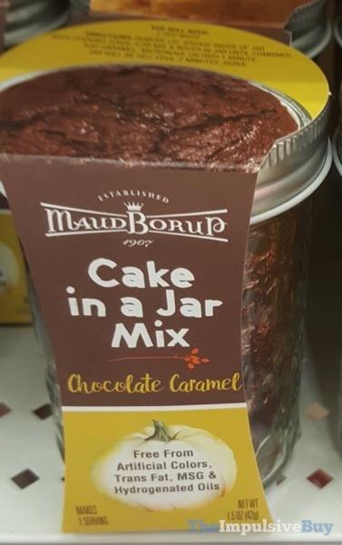 Maud Borup Cake in a Jar Mix Chocolate Caramel