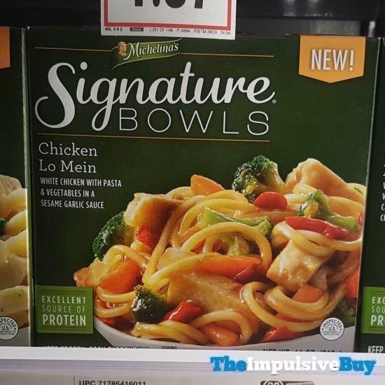 Michelina s Signature Bowls Chicken Lo Mein