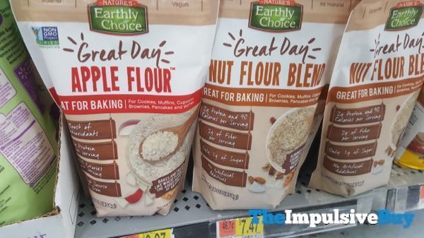 Nature s Earthly Choice Great Day Apple Flour and Nut Flour Blend