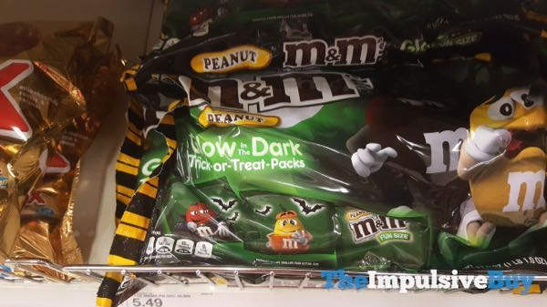 Peanut M M s in Glow in the Dark Trick or Treat Packs