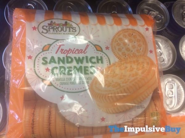 Sprouts Tropical Sandwich Cremes