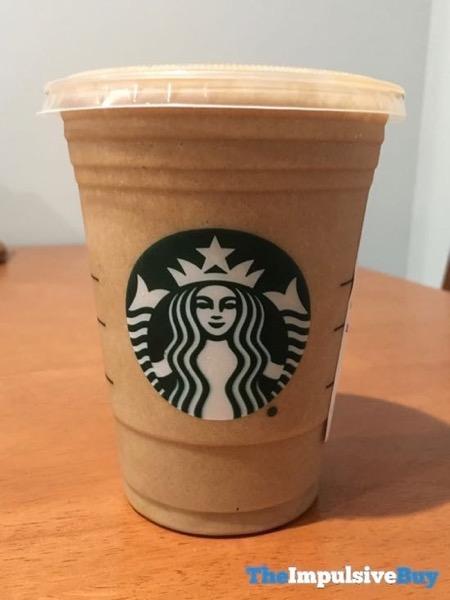 Starbucks Almond Protein Blended Cold Brew