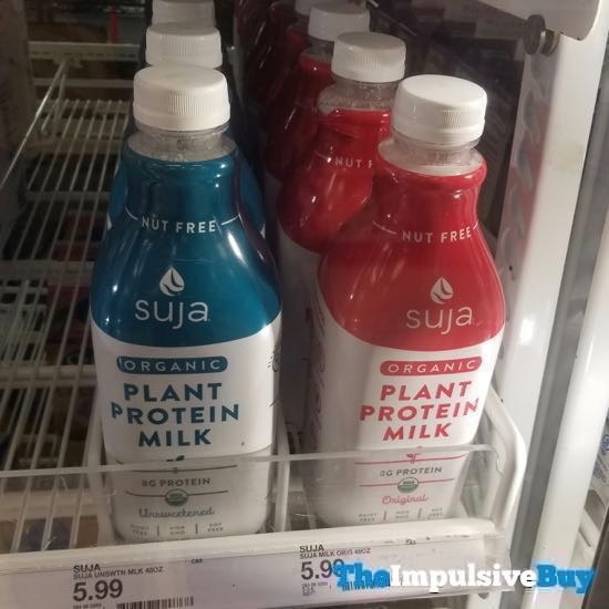Suja Organic Plant Protein Milk  Unsweetened and Original