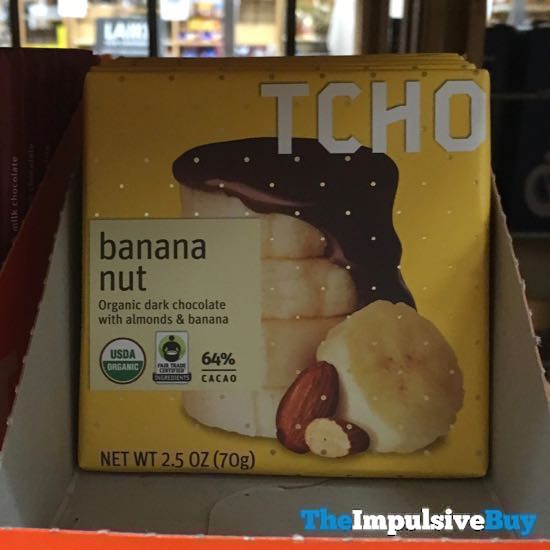 TCHO Banana Nut Bar