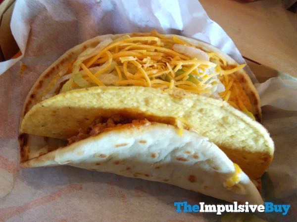 Taco Bell Double Cheesy Gordita Crunch 2
