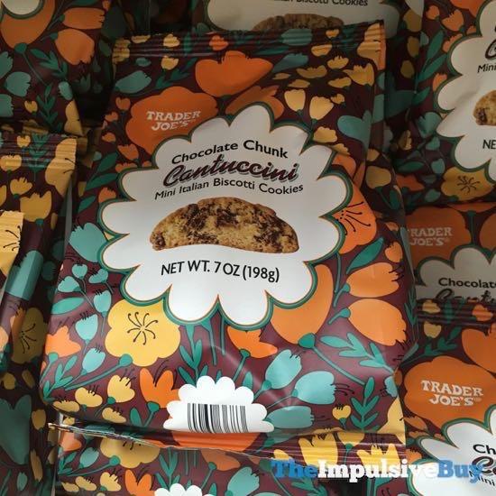 Trader Joe s Chocolate Chunk Cantuccini Mini Italian Biscotti Cookies