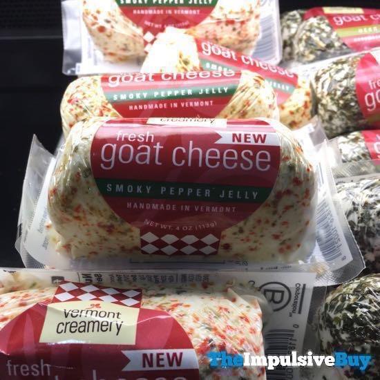 Vermont Creamery Fresh Goat Cheese Smoky Pepper Jelly