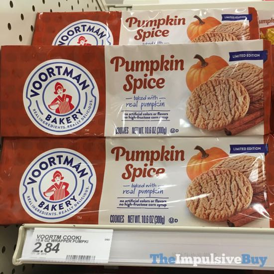 Voortman Bakery Limited Edition Pumpkin Spice Cookies