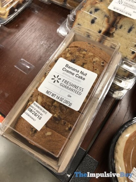 Walmart Banana Nut Creme Cake