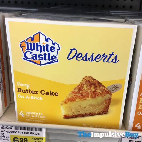 White Castle Desserts Gooey Butter Cake On A Stick