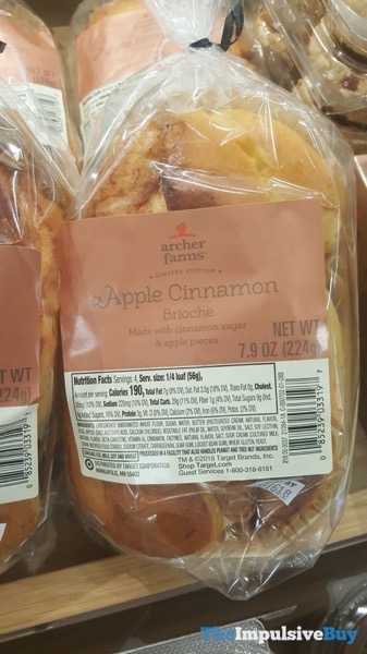 Archer Farms Limited Edition Apple Cinnamon Brioche